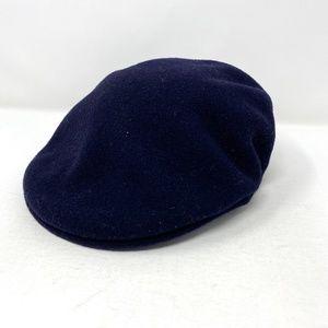 NWOT Kangol 504 Wool - Dark Blue Hunting Cap Hat